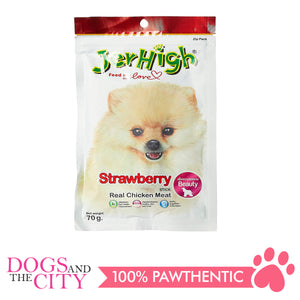 Jerhigh Treats Strawberry 70g - All Goodies for Your Pet
