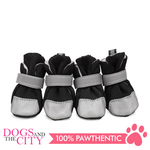Jml Mesh+Reflective Leather Dog Shoes Medium - All Goodies for Your Pet