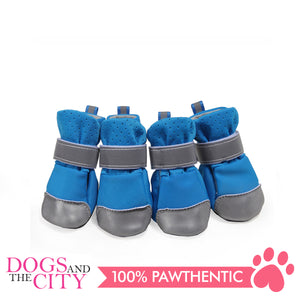 Jml Mesh+Reflective Leather Dog Shoes X-Large - All Goodies for Your Pet