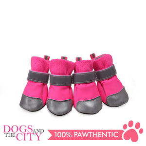 Jml Mesh+Reflective Leather Dog Shoes Small - All Goodies for Your Pet