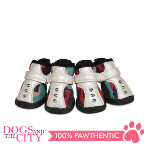 JML Neoprene with Rubber Sole Dog Shoes Size 3 - All Goodies for Your Pet