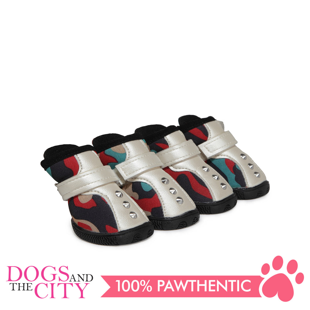 JML Neoprene with Rubber Sole Dog Shoes Size 4 - All Goodies for Your Pet