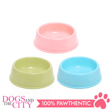 Load image into Gallery viewer, JX 0024 Colored Pet Plastic Bowl  13.5Cm