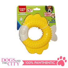 Load image into Gallery viewer, JX P991 Fish-Shaped Soft Rubber Molar Pet Toy 14x14x3cm Dog Toy