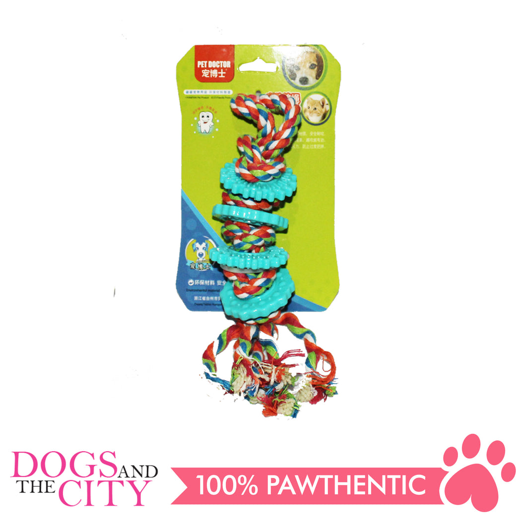 JX P1022-A String Cotton Rope Molar Pet Toy 20X5X5Cm