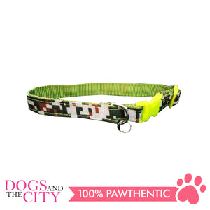 JX 1837 1.5 cm Camouflage Collar for Dogs