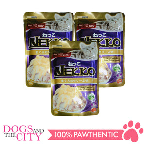Nekko Cat Food Tuna Topping Cheese 70g (3 packs) - All Goodies for Your Pet