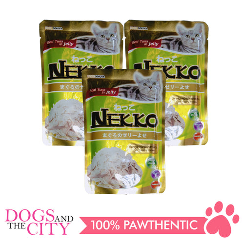Nekko Cat Food Tuna Topping Shirasu 70g (3 packs) - All Goodies for Your Pet