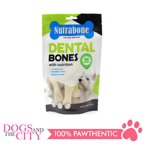 Nutrabone U001 Dental Bone Milk Flavor Toothbrush 180g - All Goodies for Your Pet