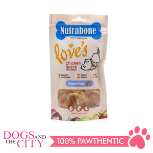 Nutrabone U008 Snack Chicken Rings 100g - All Goodies for Your Pet