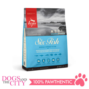 Orijen Six Fish Cat Food 1.8kg - All Goodies for Your Pet