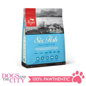 Orijen 6 Fish Dog 2kg - Dogs And The City Online