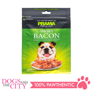 Prama Delicacy Snack BACON 70G - All Goodies for Your Pet