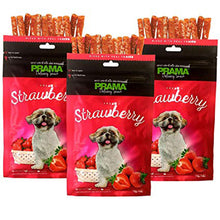 Load image into Gallery viewer, Prama Delicacy Snack Strawberry 70g - All Goodies for Your Pet