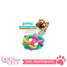 Load image into Gallery viewer, Pawise 14667 Rainbow World Ball Dog Toy Small 5.5cm - All Goodies for Your Pet