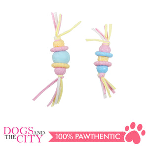 Pawise 14677 Pastel Puppy Life Teething Dog Toy - All Goodies for Your Pet
