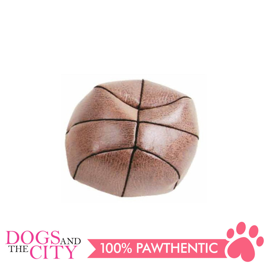 Pawise 15187 Vintage Pet Toy Basketball Medium 11cm - All Goodies for Your Pet
