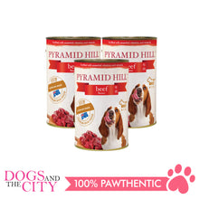 Load image into Gallery viewer, Pyramid Hill Beef 400g Wet Canned Food for Dogs (Set of 3 cans) - All Goodies for Your Pet