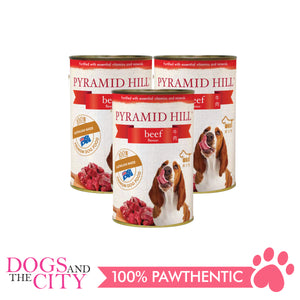 Pyramid Hill Beef 400g Wet Canned Food for Dogs (Set of 3 cans) - All Goodies for Your Pet