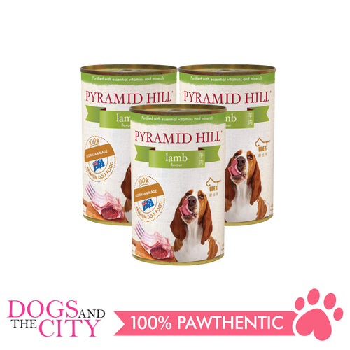 Pyramid Hill Lamb 400g Wet Canned Food for Dogs (Set of 3 cans) - All Goodies for Your Pet