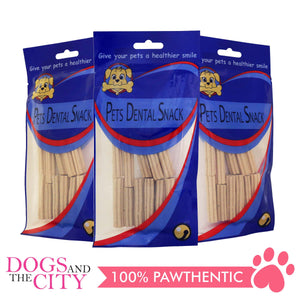 Pets Dental Snack GPP091930 Chewy Stick Milk Flavor 5cm (3 packs)