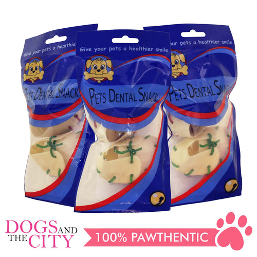 Pets Dental Snack GPP091901 Milk Bone Shoe-Shaped (3 packs) - All Goodies for Your Pet