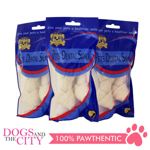 Pets Dental Snack GPP091903 Medium Milk Bone 10cm (3 packs) - All Goodies for Your Pet