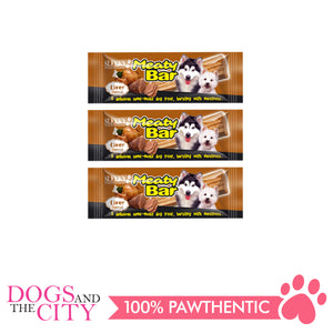 Sleeky Meaty Bar Liver 30g (3 packs) - All Goodies for Your Pet