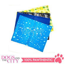 Load image into Gallery viewer, SLP Pet Cooling Mat Plain Blue Design Large for Dog and Cat 90x50cm