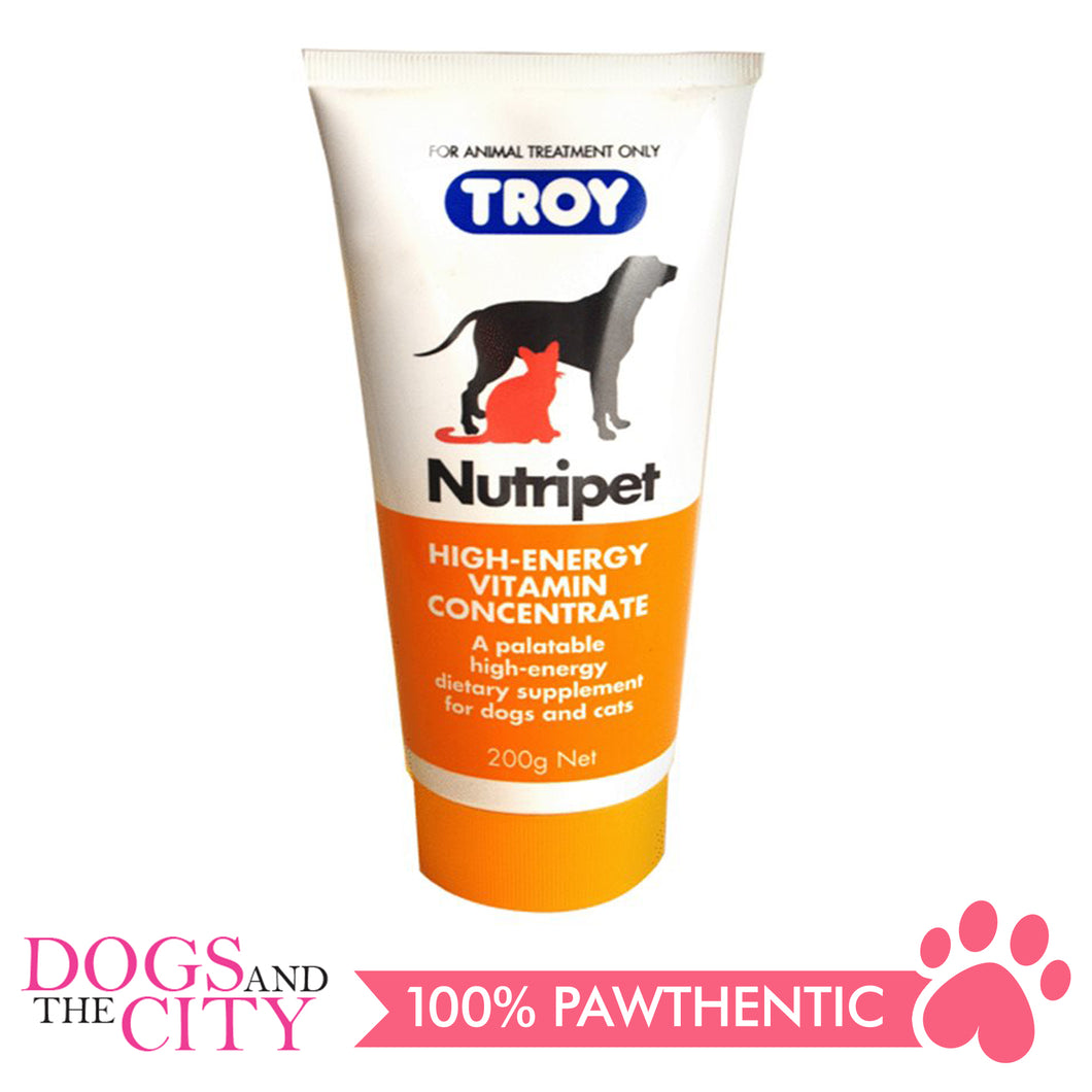 Troy Nutripet 200g High-Energy Vitamin for Dogs and Cats - Dogs And The City Online