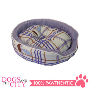 Doggiestar Round Foam Pet Bed Small 45x37x10 cm