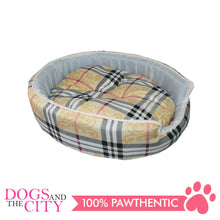 Load image into Gallery viewer, Doggiestar Round Foam Pet Bed Small 45x37x10 cm