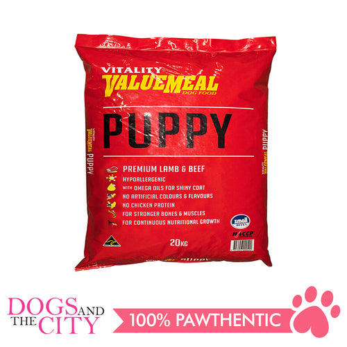 Vitality Value Meal Dog Food Puppy 20Kg - All Goodies for Your Pet