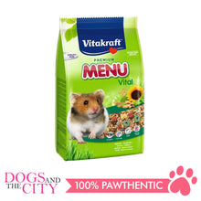 Load image into Gallery viewer, Vitakraft Menu Hamster Food 400g