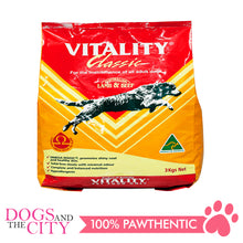 Load image into Gallery viewer, Vitality Classic Lamb and Beef Dog Dry Food 3kg - All Goodies for Your Pet