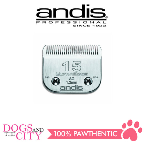 ANDIS UltraEdge® Detachable Blade Size 15 - All Goodies for Your Pet