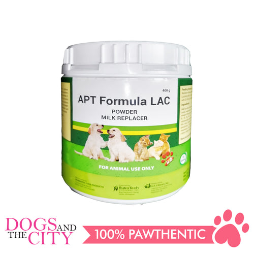 Nutratech Apt Formula Milk Replacer Powder for Dog 400g - All Goodies for Your Pet