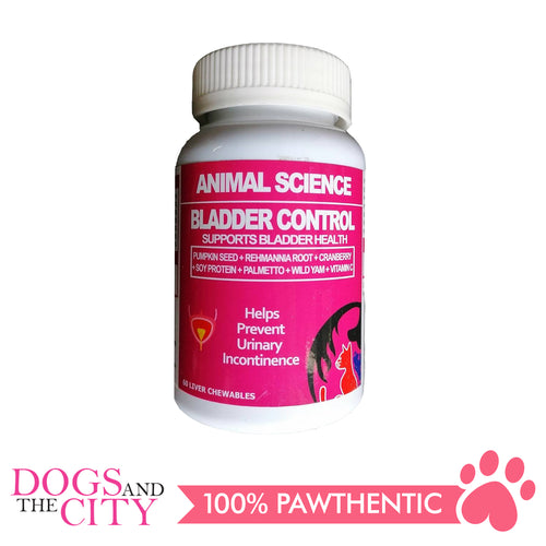 Animal Science Bladder Control 60's Chewables - All Goodies for Your Pet