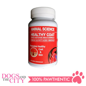 Animal Science Healthy Coat 60's Chewables - All Goodies for Your Pet
