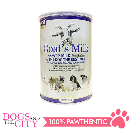 BBN BN008 New Zealand Goats Milk Powder for Dog and Cat 400g