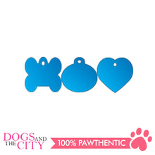 Load image into Gallery viewer, Personalized Pet Tags Heart Shape Small 25x25mm - All Goodies for Your Pet