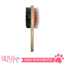 Load image into Gallery viewer, BM Round Double Brush Medium for Dogs and Cats 7x20cm