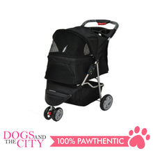 Load image into Gallery viewer, BM SP03 3 Wheel Pet Stroller Black - All Goodies for Your Pet