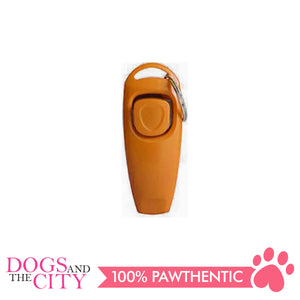 JX 2 In 1 Pet Trainer Clicker with Whistle