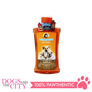 Bearing Tick & Flea Dog Shampoo Short Hair 600ml - All Goodies for Your Pet