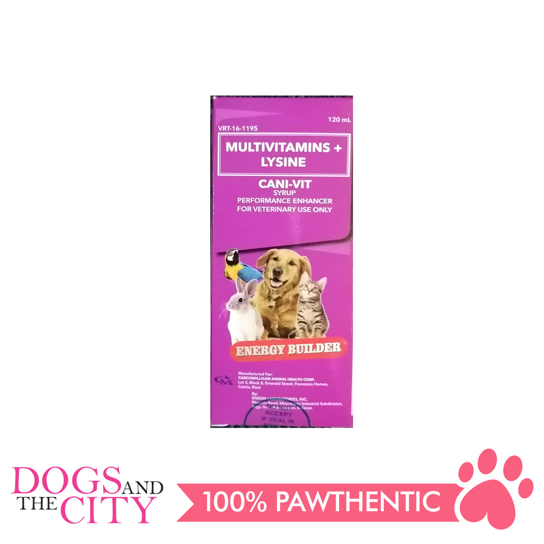 CM Cani-Vit Performance Multivitamins 120ml - Dogs And The City Online