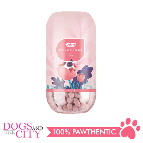 Cature Deodorizer Fresh Scent Beads Floral 450 ml - All Goodies for Your Pet