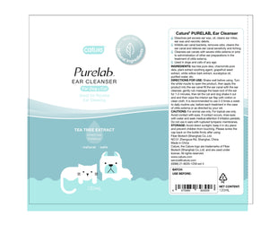 Cature Purelab Ear Cleanser For Dog and Cat 120ml - All Goodies for Your Pet