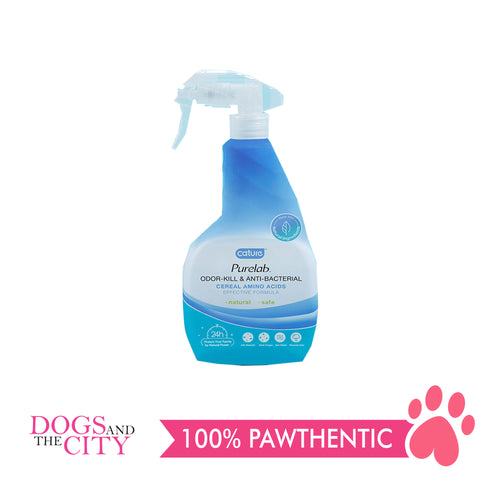 Cature Purelab Odor-kill & Anti-Bacterial Spray 500ml - Dogs And The City Online