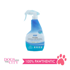 Cature Purelab Odor-kill & Anti-Bacterial Spray 500ml - All Goodies for Your Pet